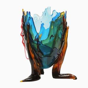 Jarrón Extracolor transparente de Gaetano Pesce para Fish Design