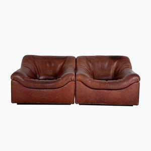 DS46 Sessel von de Sede, 1960er, 2er Set