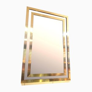 Großer Italienischer Vintage Spiegel