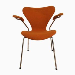 Sedia nr. 3207 di Arne Jacobsen per Fritz Hansen, 1989