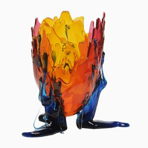 Vase Extracolor Transparent par Gaetano Pesce pour Fish Design