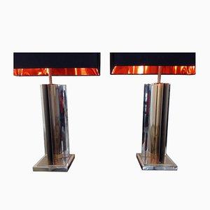 Französische Tischlampen von Maison Charles, 1960er, 2er Set