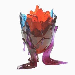 Jarrón Extracolor Special transparente de Gaetano Pesce para Fish Design