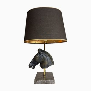 Sculptural Horse Head Lamp from Maison Jansen, 1960s