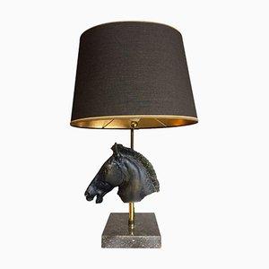 Skulpturale Lampe in Pferdekopf-Optik von Maison Jansen, 1960er