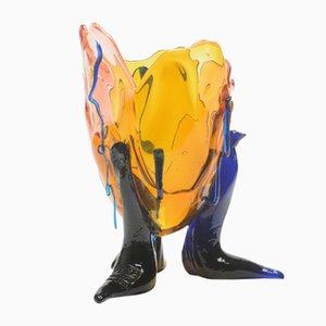 Durchsichtige Special Extracolor Vase von Gaetano Pesce für Fish Design