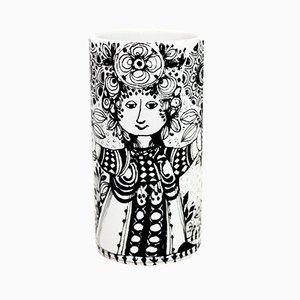 Vase von Bjørn Wiinblad für Rosenthal, 1970er