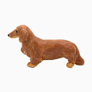 Swedish Porcelain Dog Figurine by Maria Ericson for Jie Gantofta, 1980s