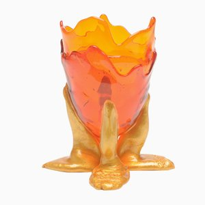 Clear Extracolor Vase by Gaetano Pesce for Fish Design