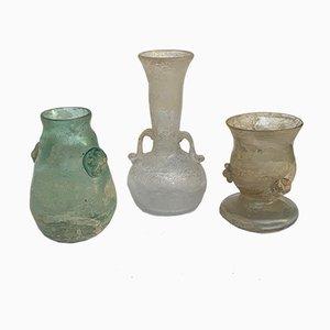A Scavo Vasen von Seguso Vetri d'Arte, 1960er, 3er Set