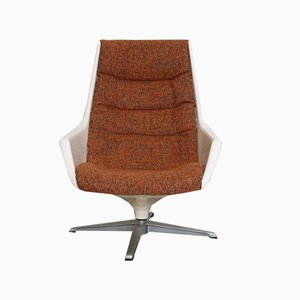 Vintage Galaxy Swivel Chair by Alf Svensson for Dux, 1970s