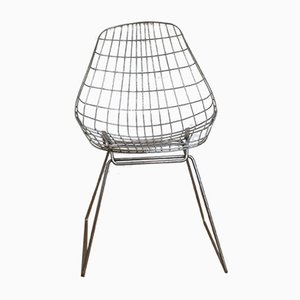 Wire Chairs Sm05 by Cees Braakman for Pastoe, 1958, Set of 4