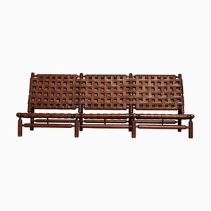 Vintage 3-Seat Sofa by Ilmari Tapiovaara for La Permanente Mobili Cantù, 1950s