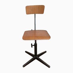 Chaise de Bureau Mid-Century par Friso Kramer pour Ahrend de Cirkel