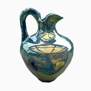 Antique Stoneware Pitcher by Alphonse Cytère for Rambervillers