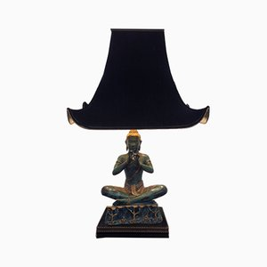 French Buddha Lamp, 1970s