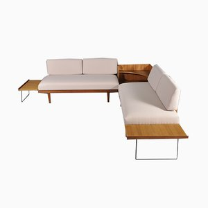 Sofá cama esquinero Svanette de Ingmar Relling para Ekornes Svane, años 60