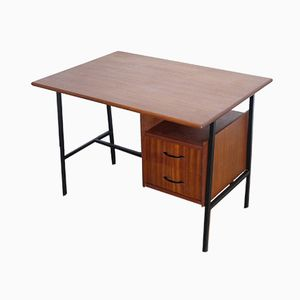 French Modern Teak Desk, 1960s