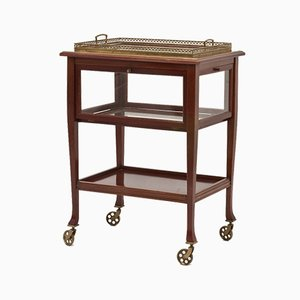 Serving Cart with Removable Tray, 1930s