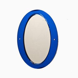 Miroir Ovale de Cristal Art, 1960s