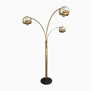 Lampadaire Gold Balls par Goffredo Reggiani, 1970s