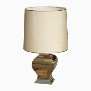 French Brass Dome Table Lamp from Maison Jansen, 1970s