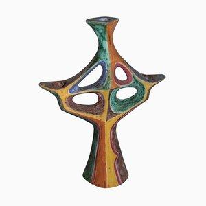 Mid-Century Ceramic Candlestick, 1957