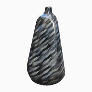 Große farbige Airbrush Vase, 1980er