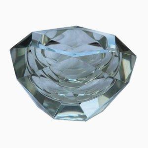 Cenicero italiano en forma de diamante, años 60