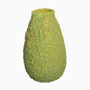 Italienische grüne Mid-Century Vase von Spica, 1950er