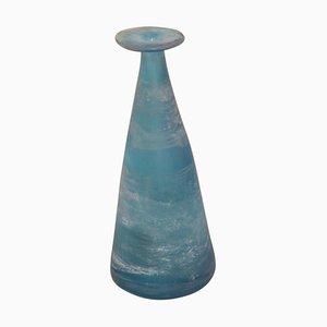 Botella de cristal de Murano de Licio Zanetti, años 60