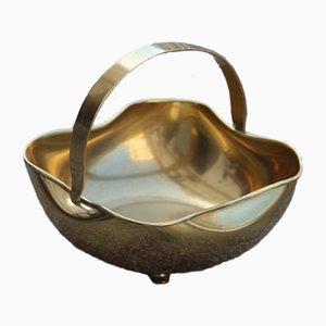 Vintage Italian Brass Bowl, 1950s