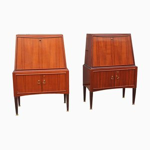 Vintage Cabinet Bar by Paolo Buffa, Set of 2