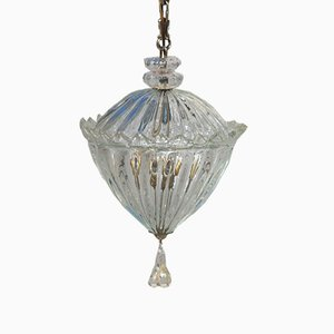 Italian Murano Glass Pendant from Seguso, 1940s