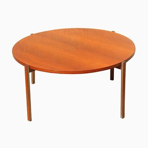Mid-Century Modern Italian Teak Coffee Table