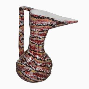 Jarrón en forma de botella grande de Otello Rosa para San Polo Design, años 50