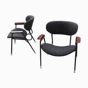 Mid-Century Armlehnstühle von Gastone Rinaldi für RIMA Design, 1950er, 2er Set
