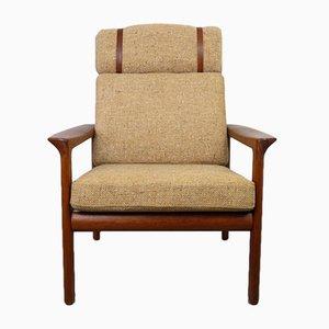 Sessel mit Gestell aus Teak von Sven Ellekaer für Komfort, 1970er