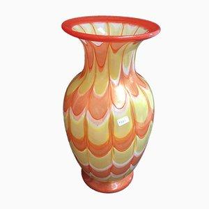 Vaso in vetro di Murano di Mazzucato, anni '60