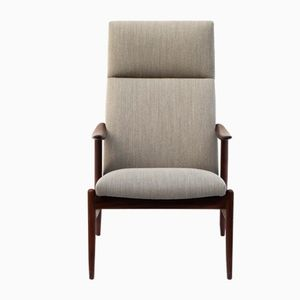 Skandinavischer Sessel mit Gestell aus Teak, 1960er