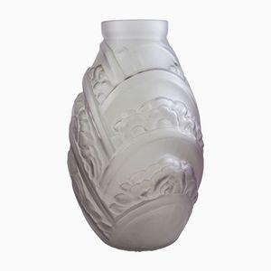 Art Deco Vase von Muller Frères, 1925