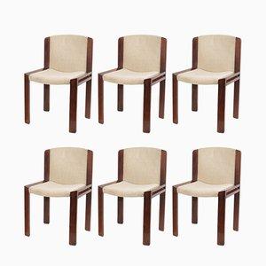 Chaises d'Appoint Modèle 300 par Joe Colombo pour Pozzi, 1960s, Set de 6