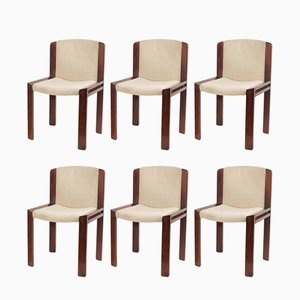 Model 300 Side Chairs by Joe Colombo for Pozzi, 1960s, Set of 6