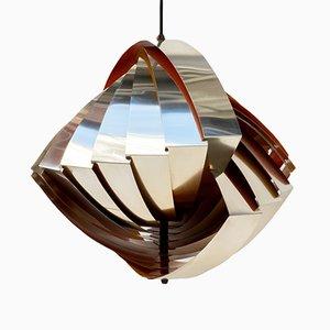 Lampe à Suspension Konkylie par Louis Weisdorf pour Lyfa, 1950s