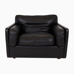 Vintage Leather Armchair from Poltrona Frau