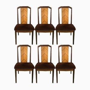 Vintage Esszimmerstühle aus Teak von G-Plan, 1970er, 6er Set