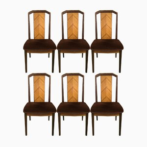 Vintage Teak Dining Chairs from G-Plan, 1970s, Set of 6