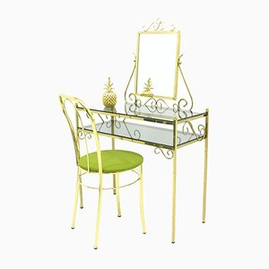 Vintage Dressing Table & Chair from Ilse, 1970s