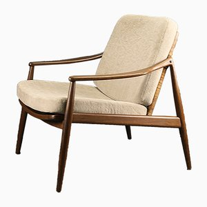 Teak Easy Chair by Hartmut Lohmeyer for Wilkhahn, 1960s