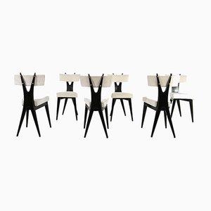 Chaises de Salle à Manger Vintage par Gianni Vigorelli, Set de 6